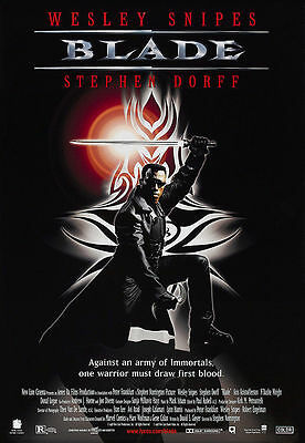 Blade movie poster A4 Size