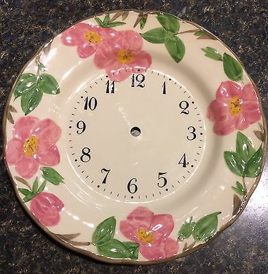 Franciscan Desert Rose Clock Face Made In england