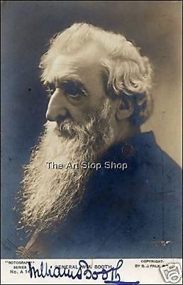 William Booth signed photo print