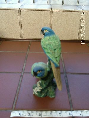 Coalport Blue Headed Macaws figurine #72