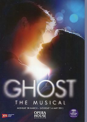 Ghost - The Musical Theatre Programme Opera House Manchester 2011