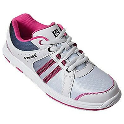 Women's Brunswick Sienna Bowling Shoes Color White & Pink Size 11