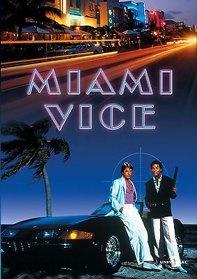 Miami Vice movie poster A4 size