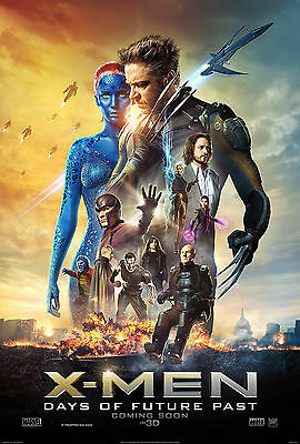 X Men days of future past movie poster A4 Size