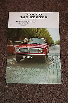 VOLVO 140 Series 10 Page Brochure - 1960's - 1970's?