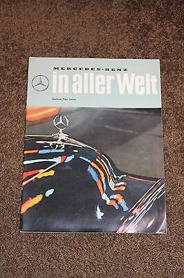 1963 In Aller Welt MERCEDES-BENZ Magazine - Special Taxi Issue