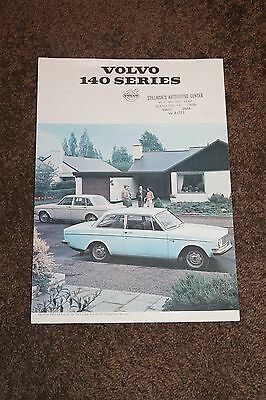 VOLVO 140 Series 4 Page Brochure - 1960's - 1970's?