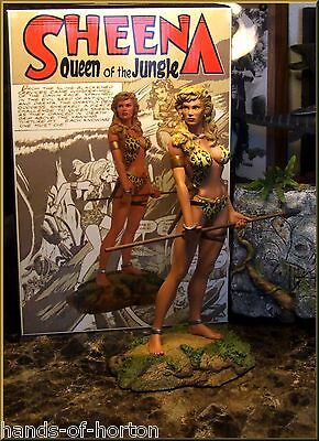 SHEENA, Queen of the Jungle. Reelart Studios fine art statue figure model. RARE!