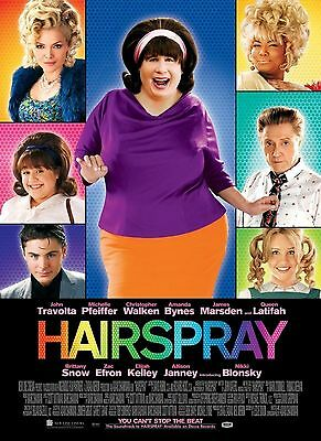 Hairspray movie poster A4 Size