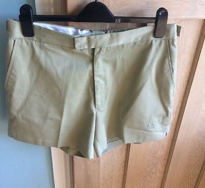 "Fred Perry 36"" Mens Shorts - hipster/mod or maybe tennis. excellent condition"