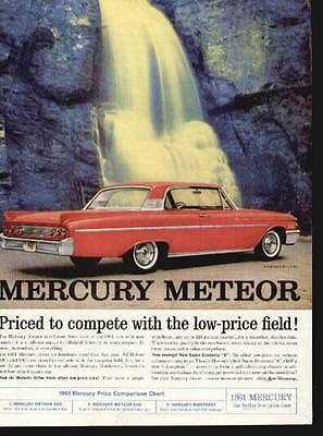 1961 Mercury Meteor 2-Door Sedan ad