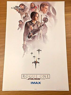 Original Star Wars Rogue One IMAX Week 3 Limited Edition Poster