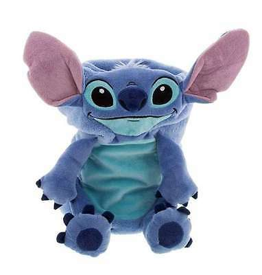 Disney Parks Stitch Cuddle Characters Baby Throw Blanket Plush Toy New With Tags