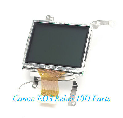 Genuine Canon EOS 10D Camera LCD Screen w/Backlight & Tray - Repair Parts