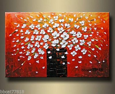 Large Oil Paintings On Canvas Flower Tree Abstract Landscape Wall Art no frame
