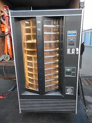 Very Nice Rowe 648 Showcase Merchandiser Cold Food / Sandwich Vending Machine