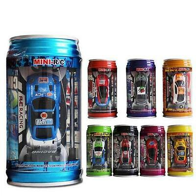 HOT Mini Speed RC Radio Remote Control Micro Racing Car Coke Can Toy Gift New S