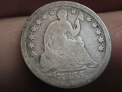 1855-O Seated Liberty Half Dime, Low Mintage Date