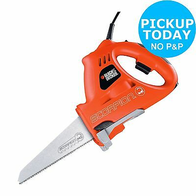 Black & Decker Scorpion 400W Multifunction Saw - Orange:The Official Argos Store