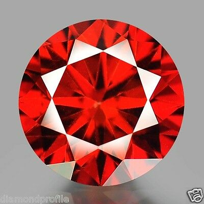 0.57 Cts EXCELLENT QUALITY RED COLOR NATURAL LOOSE DIAMONDS- SI1
