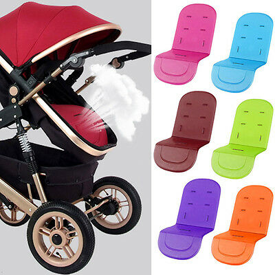 Candy Color Baby Stroller Pram Soft Cushion Pushchair Padding Cover Car Seat Mat