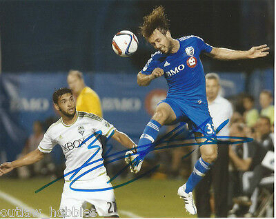 Montreal Impact Marco Donadel Autographed Signed 8x10 Photo COA