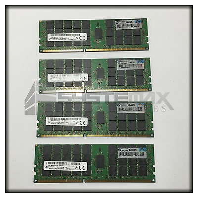 HP 384GB (16x24GB) 3Rx4 PC3L-10600R LV Memory Kit for BL460c Gen8 761501-B21