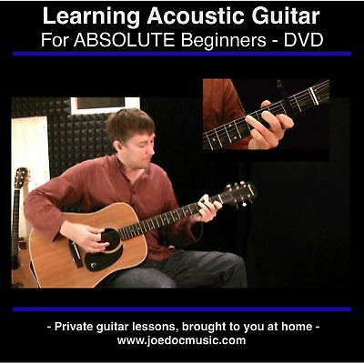 Learn How To Play Guitar DVD * Easy Lessons * PERFECT GIFT FOR BEGINNERS
