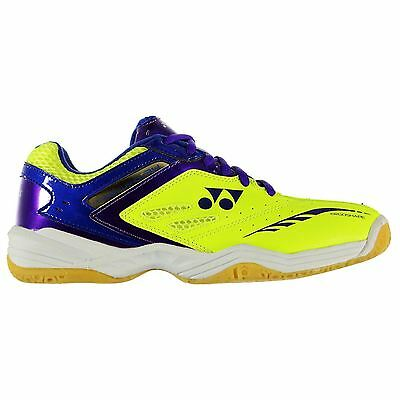 Yonex Mens SHB 34EX Badminton Lace Up Textile Padded Ankle Collar Shoes