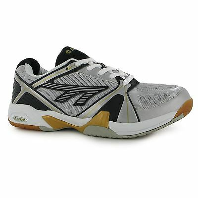 Hi Tec Mens Indoor Lightweight Tennis Squash Lace Up Trainers Sports Shoes