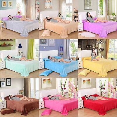 New Come Super Warm Soft Blanket Throw Rug Bed Sofa Blankets Double King