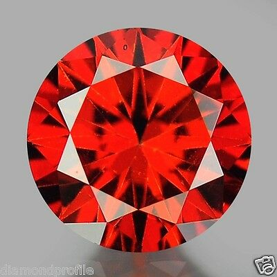 0.45 Cts EXCELLENT RARE QUALITY RED COLOR NATURAL LOOSE DIAMONDS- SI1