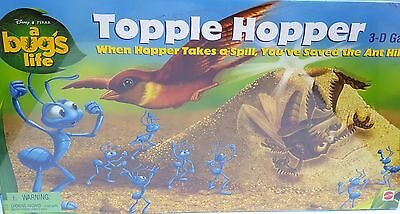 New Nib Disney Pixar A Bugs Life Topple Hopper 3-D Mattel Board Game 41531 Free