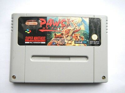 Brutal Paws of Fury Super Nintendo SNES Spiel - 1992