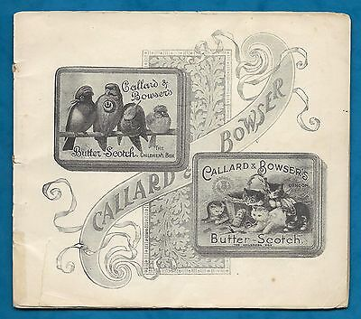 1897 Callard & Bowser Booklet For Queen Victoria's Diamond Jubilee - Imperfect