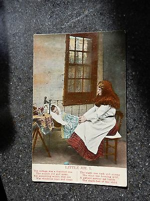 Early Song postcard- Praying for little Jim - 1