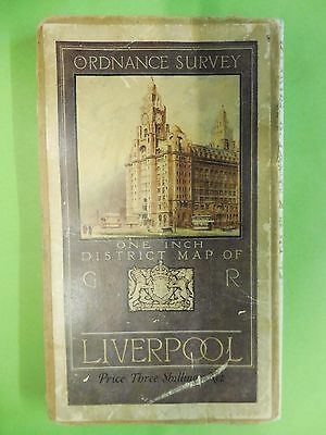 1928 Linen OS map, Liverpool and District