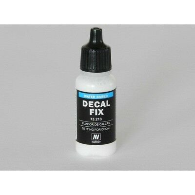 (16,59€/100ml) Vallejo Decal Fix 17ml (Finish auf Wasserbasis) 73.213