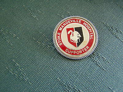 Stoke Mandeville Hospital Supporters Pin Badge