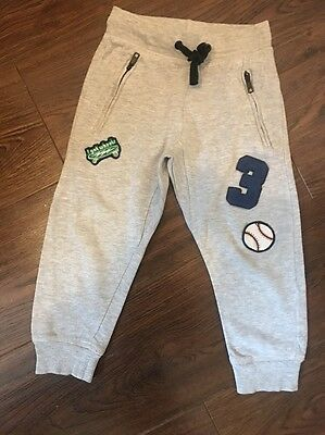 H&M.Boys.Grey.Jumpers. Joggers.Trousers.Age 3-4 Years. Draw String Waist.pockets