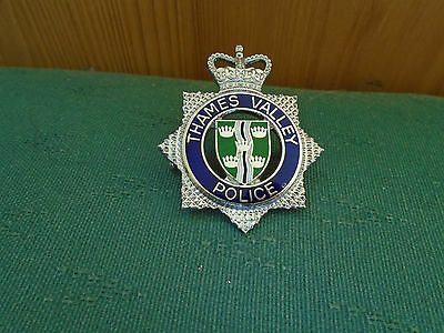 Obsolete Thames Valley Police Senior Officers Enamel Cap Badge