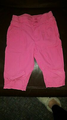 girls h&m pink trousers 3-4 years
