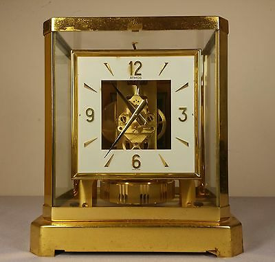 JAEGER-LECOULTRE ATMOS Clock Swiss made. working good