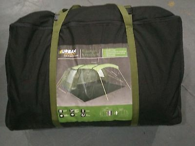 B/MARKET GRADE 6 Man Tent 1 Bedroom with Divider Sewn In Groundsheet