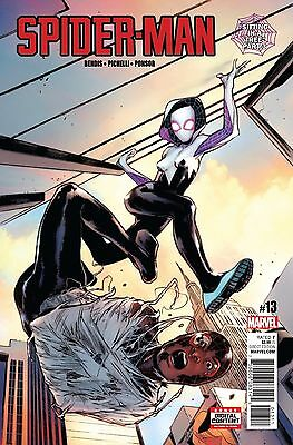 SPIDER-MAN #13, New, First Printing, Marvel (2017)