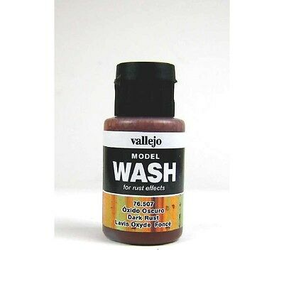 (12,54€/100ml) Vallejo Model Wash Dark Rust 35ml 76507 Farbe