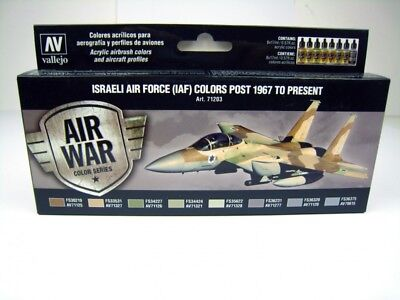 (17,73€/100ml) Vallejo Israeli Air Force (IAF) Colors-Post 1967 to presend - 571