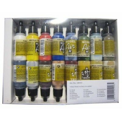 (165,48€/1l) Model Air Basis Farben Set 100 501 Airbrush Farben Set