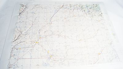 1962 Ritzville Washington Army Corp Engineers Raised Relief Map Model NL 11-1