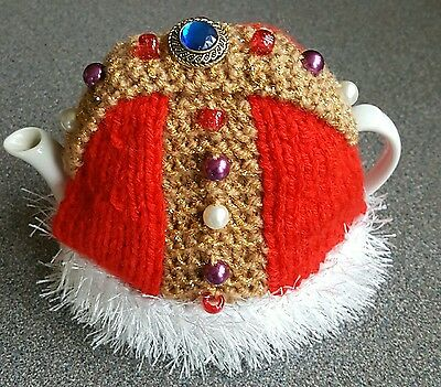 Knitted Tea Cosy Royal-Tea New Small Pot Size